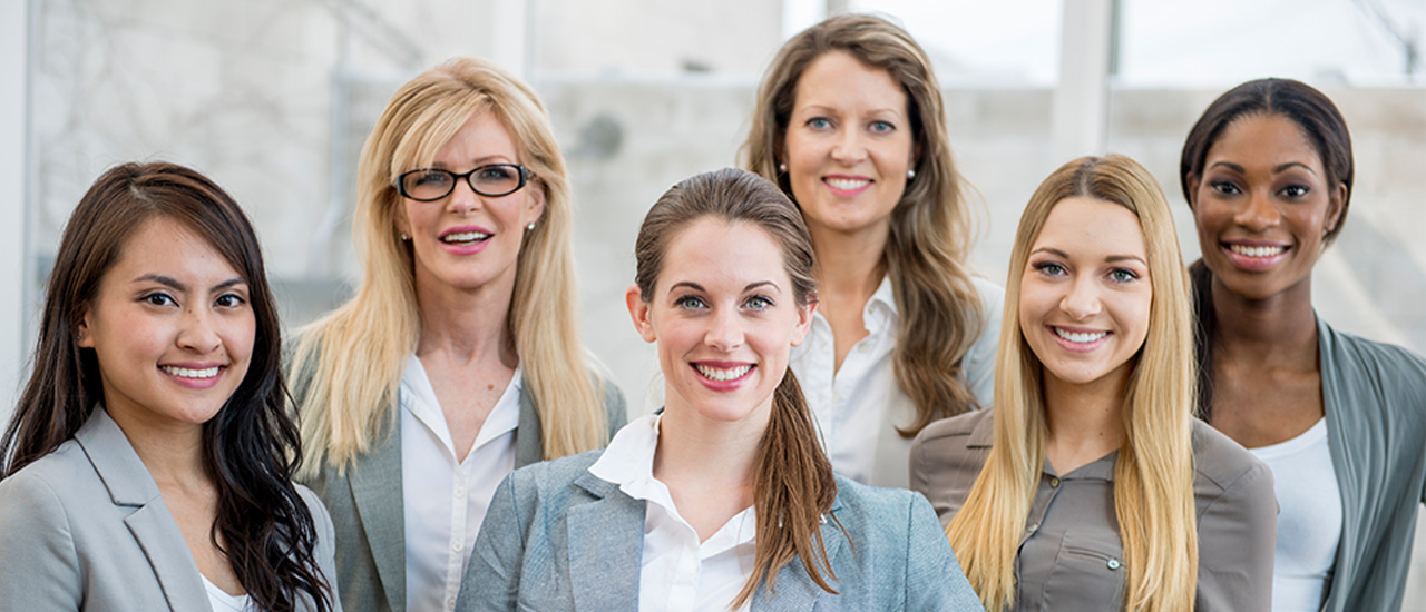 Línea ejecutiva femenina